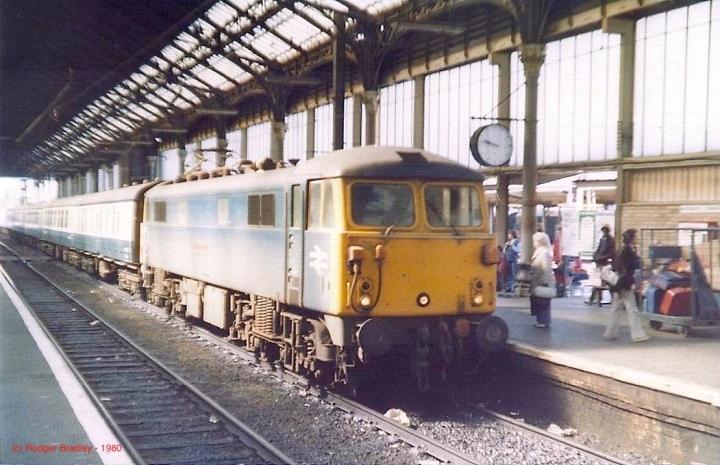 BR Class 87 at Preston