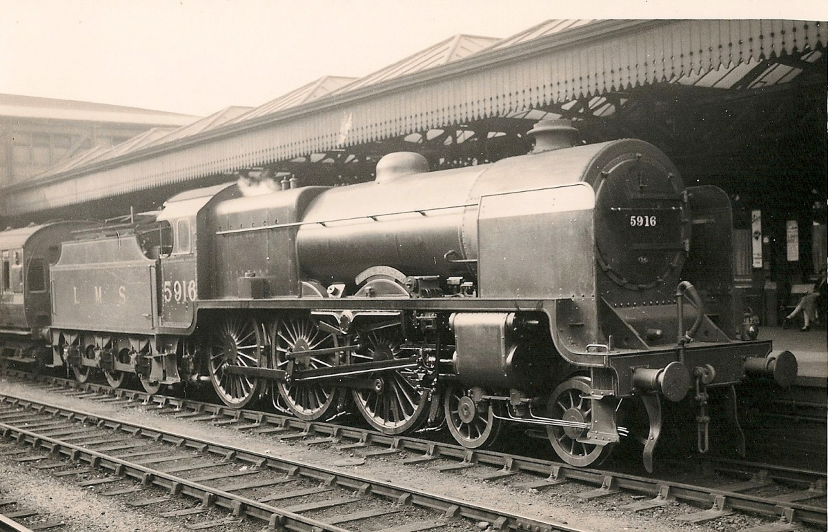 The Lms Patriot Class 4 6 0 In North West England