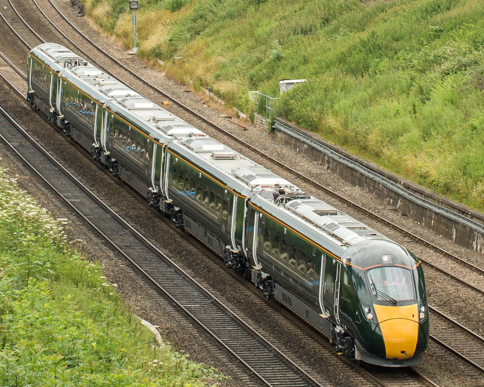 GWR Intercity Express Train edited