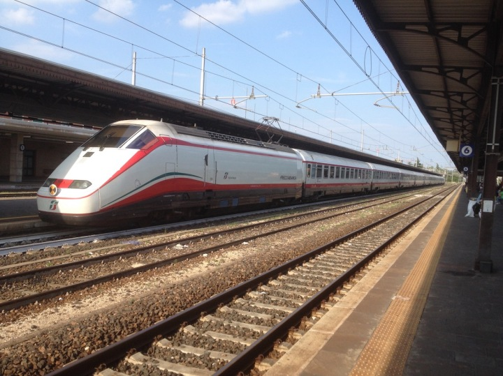 ETR500 Frecciabianca at Verona PN