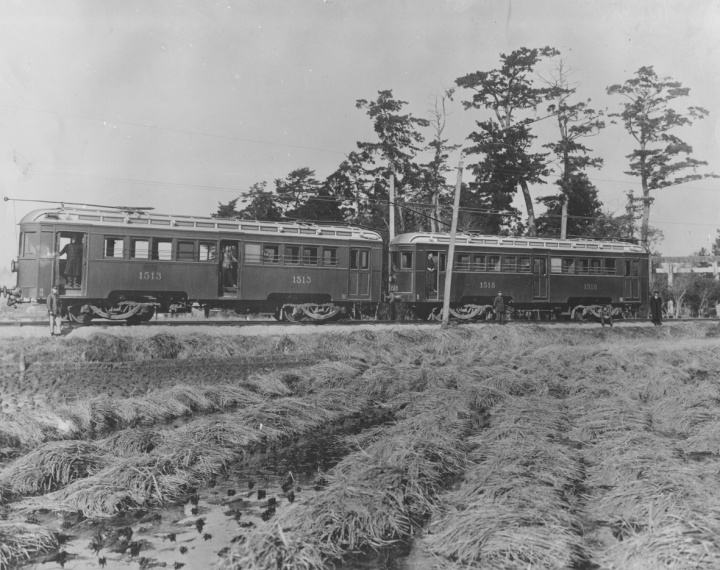 Two-car EMU for Nagoya Railway