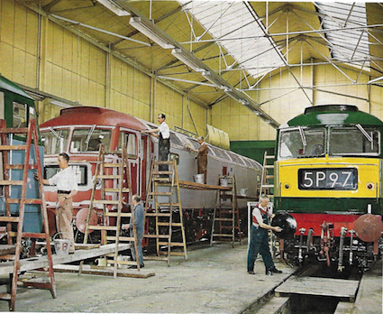 Brush Type 4s in the paint shop