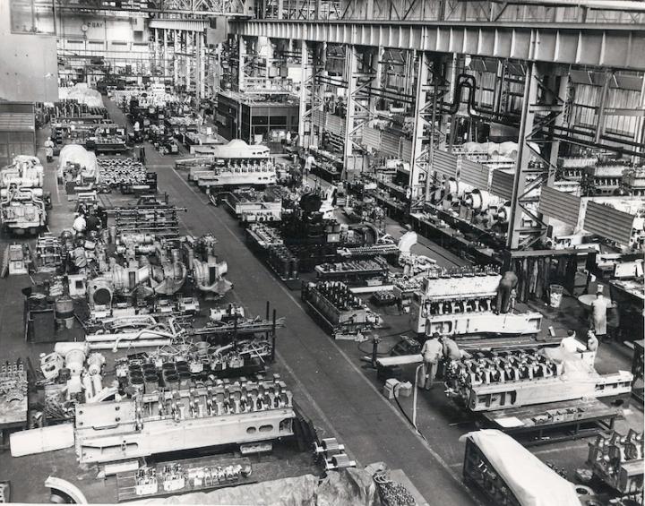 VSEL Sulzer Diesel Engine building 2