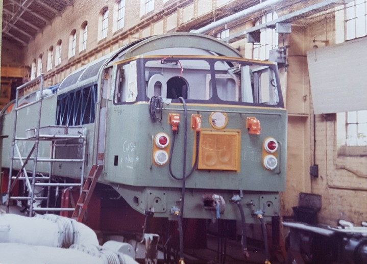 Class 56 in build - Jim Mason