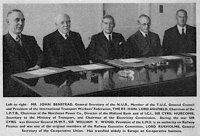 BTC Original Commission Members 1947