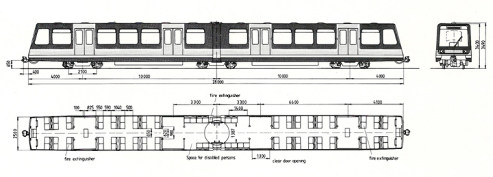 DLR Train Diagram