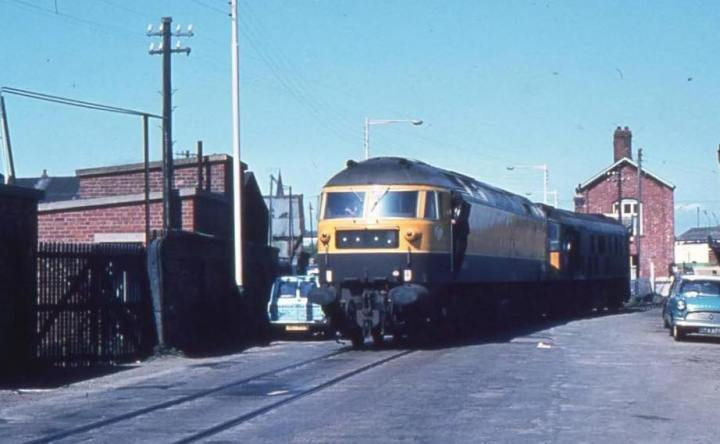 Kestrel at Barrow 1971 - Jordan Aspin Facebook