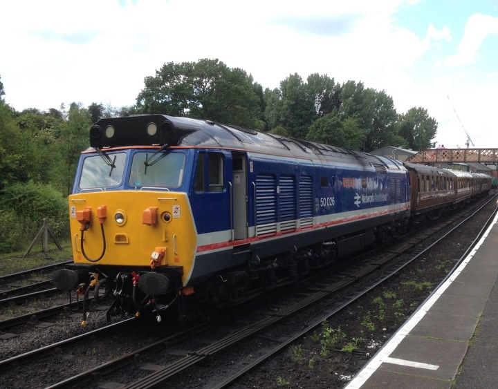50026 at Bridgnorth