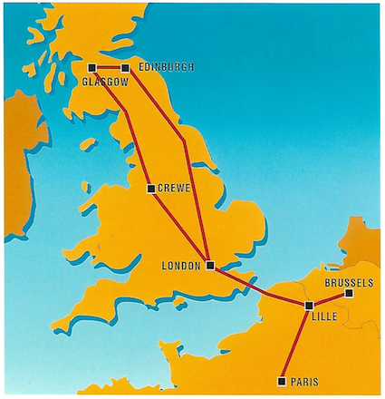 Eurostar Services That Never Were