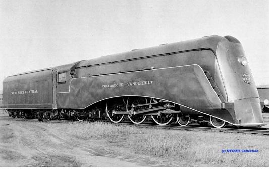 J1E Hudson No. 5344 streamliner