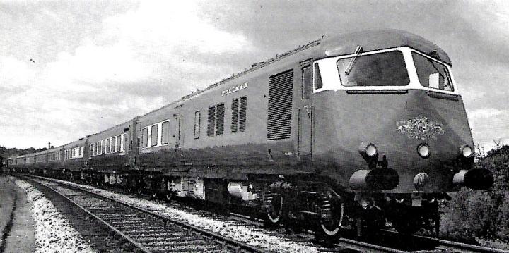 8-car Bristol Pullman