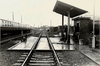 In March 1980 this was the new depot for servicing and fuelling locos and multiple units. Photo Courtesy: RPB