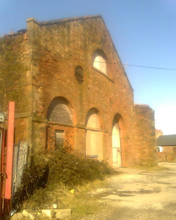 FR Original engine shed - Allan Hartley Facebook