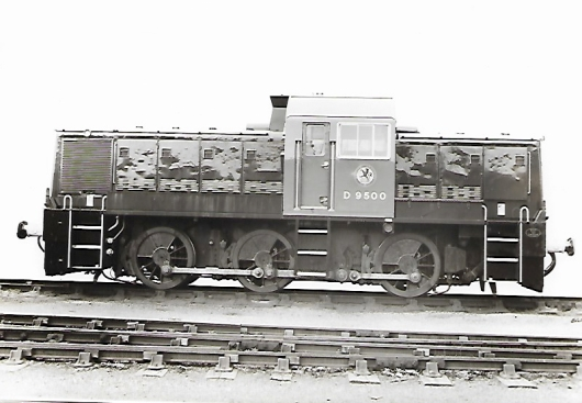 BR Class 14 new at Swindon 1964