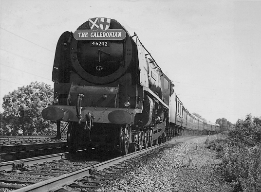 City of Glasgow on 1st Caledonian 17th June 1957