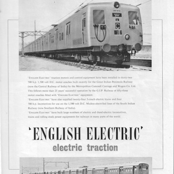 English Elec Advert - 1952 Rly Gazette copy