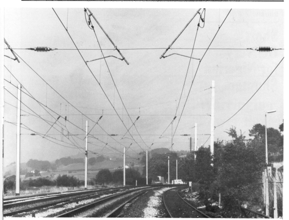 Headspan Catenary Crewe to Carlisle 1973