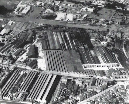 Gloucester RCW Factory from the air copy