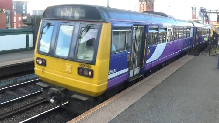 142046 at Deansgate Station, Manchester