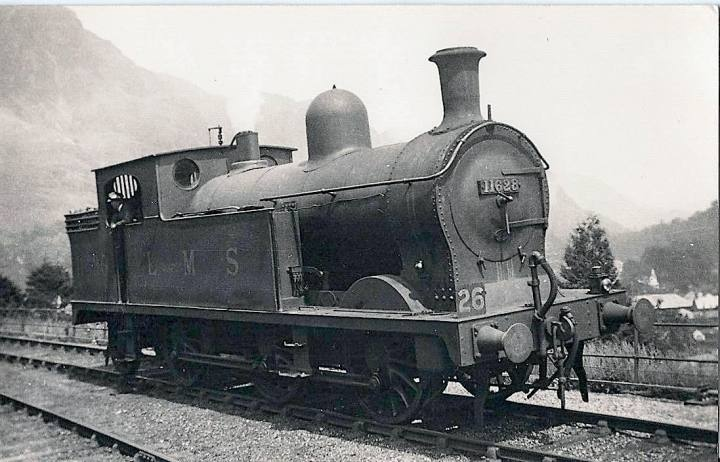 L2 Class 0-6-2T at Coniston