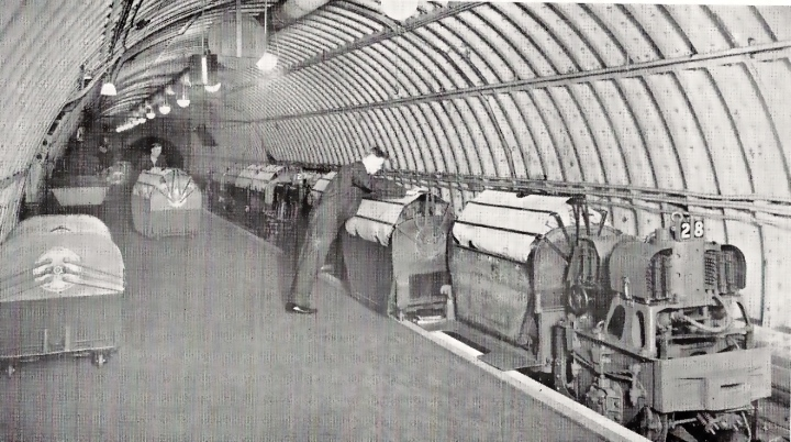 Post Office Tube Railway 1925