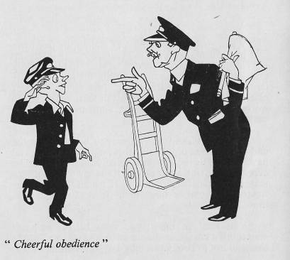 cheerful obedience cartoon