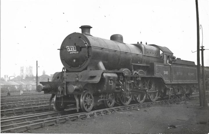 1204 Ex LYR C5 4-6-0 No. 50455