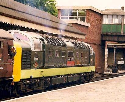 D9019 at Bury on ELR