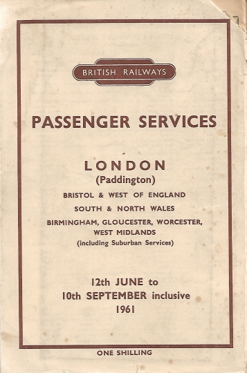 BR Western Region Named Trains 1961 17