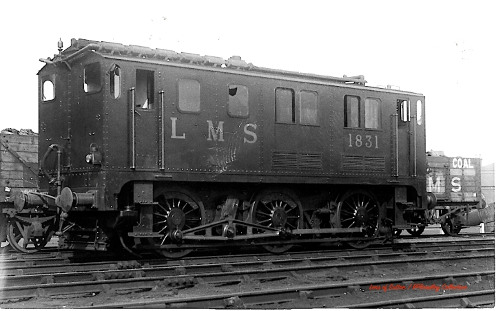 Paxman engined LMS No.1831 copy