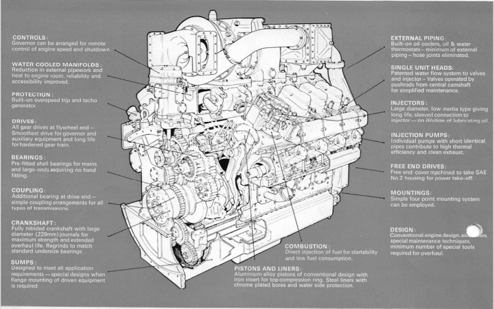 Paxman Valenta cutaway for HST