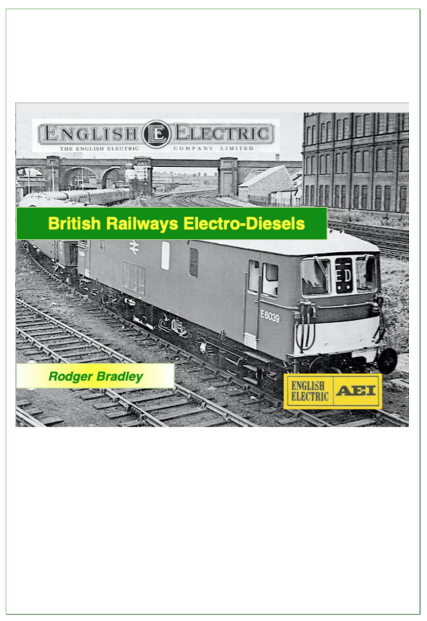 Electro-diesels cover