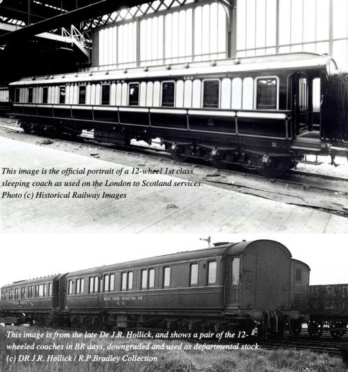 LNWR Coach Montage
