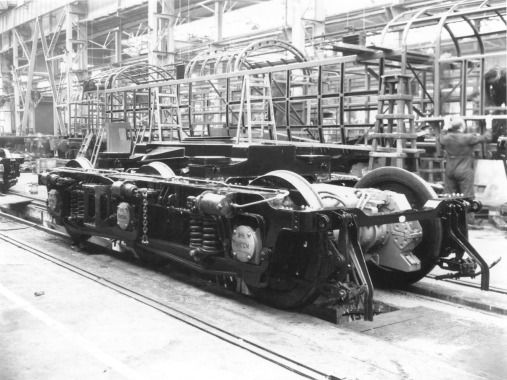 Deltic in build at Vulcan_RPB Collection