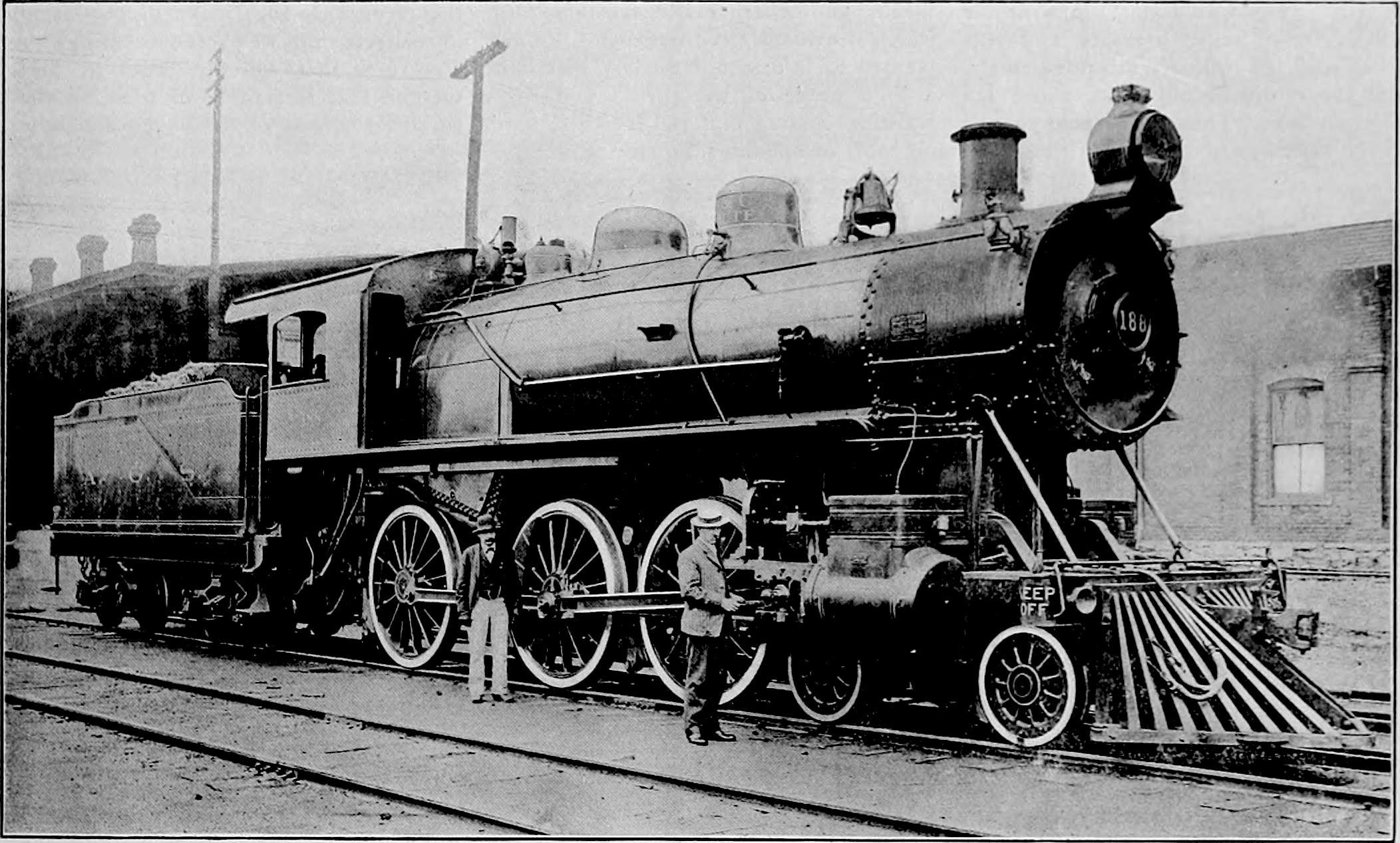 Alabama Southern 4-6-0 - 1905