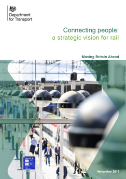 DfT Connecting People cover 2017