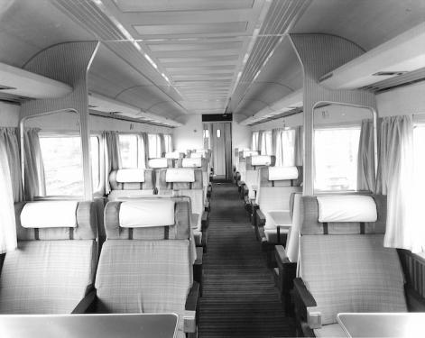 Mk III Coach interior