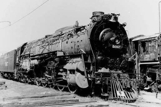 Santa Fe 5011 Texas Class 2-10-4 No.5017