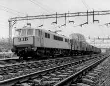 E3191 - AL6 on freight service