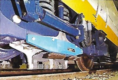 3rd rail contact shoe