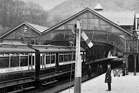 Coniston with FR Railmotor