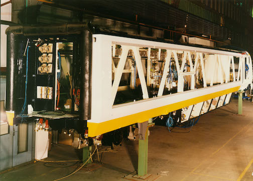 Eurostar Power Car under construction