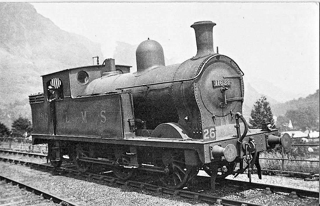 L2 Class 0-6-2T at Coniston