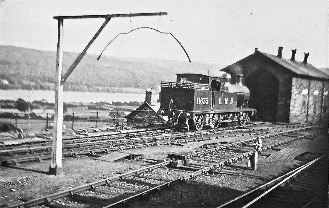 L3 Class 0-6-2T at Coniston