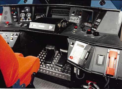 TMST Drivers' desk