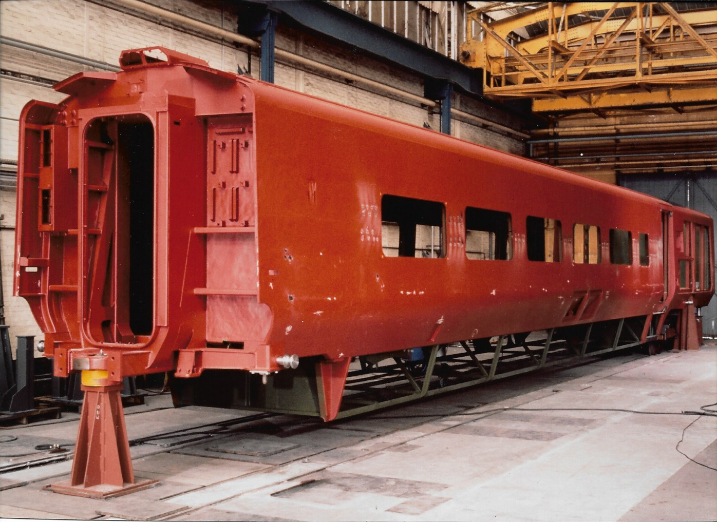 TMST Power Car under construction