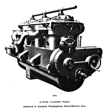 Westinghouse engine