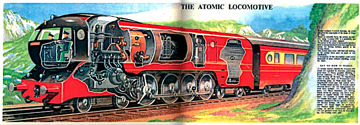 British Atomic Loco - Eagle 1952