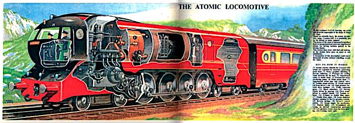 British Atomic Loco - Eagle 1952