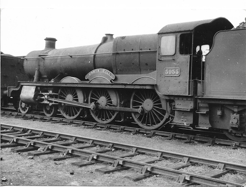 Garth Hall - no oil -Green Folder GWR 133